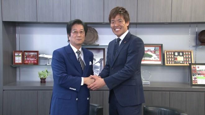 西川選手ヒキ