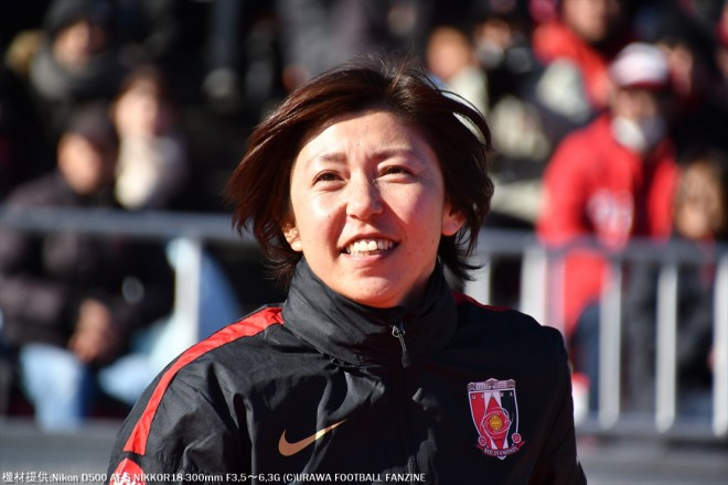 コーチとして現場復帰した柳田さん。現役時代と変わりませんね。