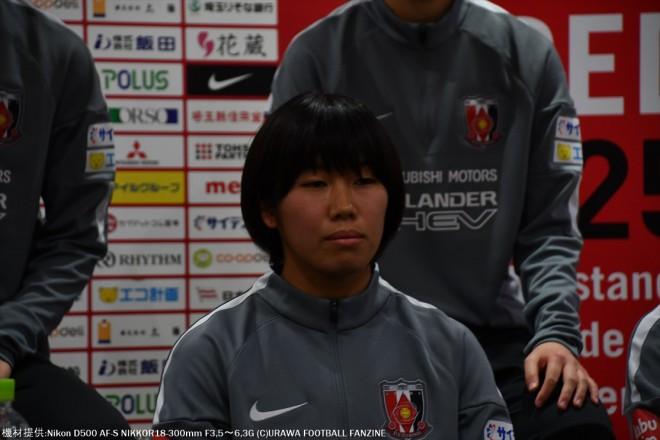 筑波大学から加入のMF山守杏奈選手。