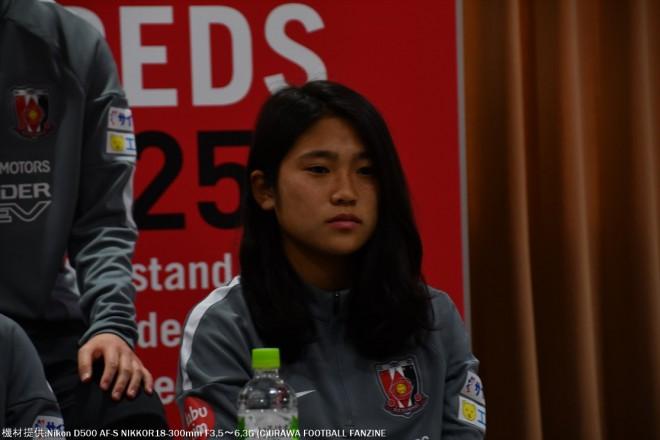昨シーズンよりも、少し身長も伸びて女らしくなった長野風花選手。